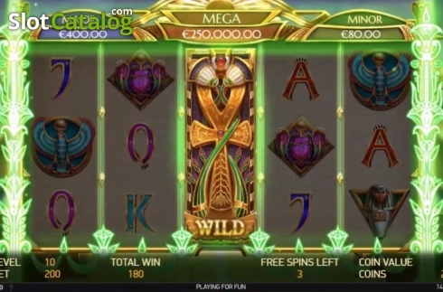 Free Spins 3. Mercy of the Gods (Video Slot from NetEnt)