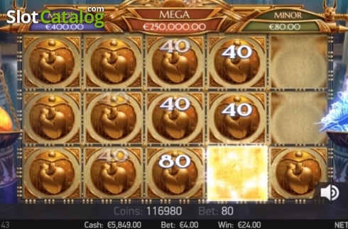 Bonus Game. Mercy of the Gods (Video Slot from NetEnt)