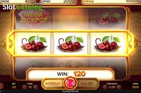 Win Screen 3. Grand Spinn (Video Slots from NetEnt)