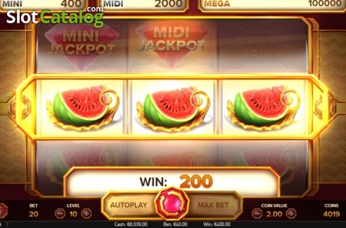 Win Screen 4. Grand Spinn (Video Slots from NetEnt)
