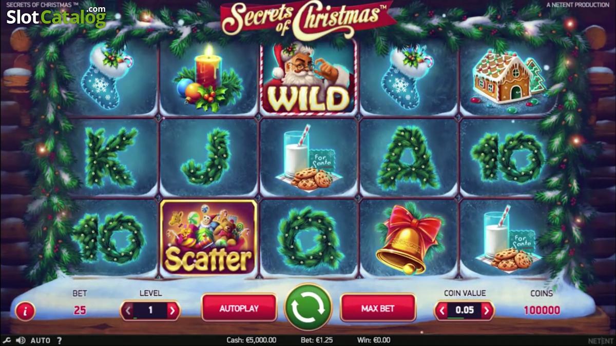 NetEnt Secrets of Christmas Slot