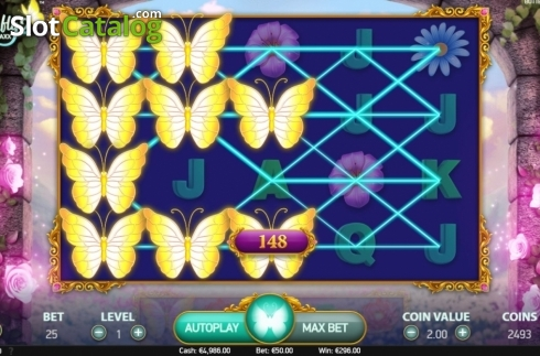 Respin 2. Butterfly Staxx 2 (Video Slot from NetEnt)