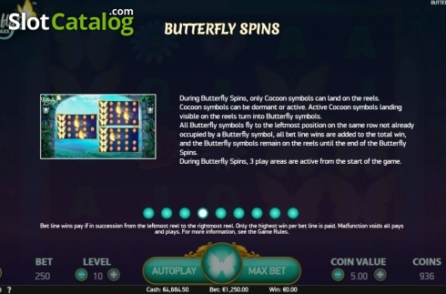 Features 4. Butterfly Staxx 2 (Video Slot from NetEnt)