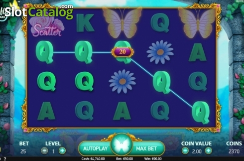 Win Screen. Butterfly Staxx 2 (Video Slot from NetEnt)