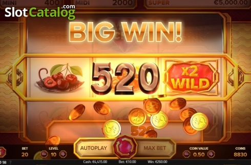 Big Win. Grand Spinn Superpot (Video Slots from NetEnt)