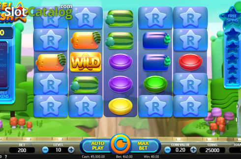 Reels screen. Reel Rush 2 (Video Slot from NetEnt)