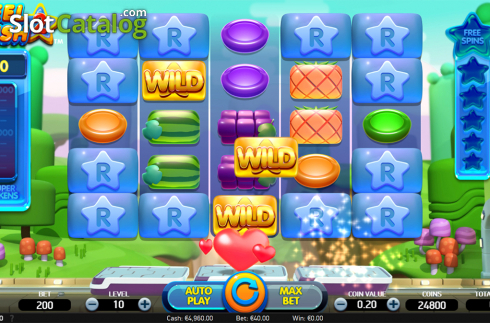 Extra wilds screen. Reel Rush 2 (Video Slot from NetEnt)