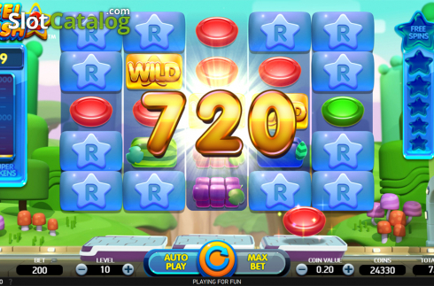 Win screen. Reel Rush 2 (Video Slot from NetEnt)