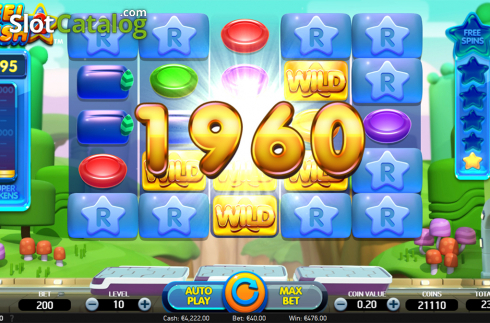 Win screen 3. Reel Rush 2 (Video Slot from NetEnt)