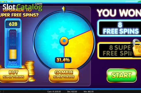Free spins upgrade screen. Reel Rush 2 (Video Slot from NetEnt)