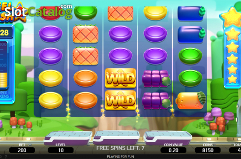 Free spins screen 1. Reel Rush 2 (Video Slot from NetEnt)