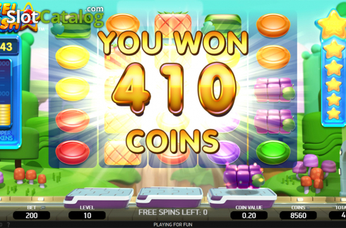 Free spins total win screen. Reel Rush 2 (Video Slot from NetEnt)