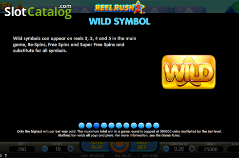Paytable 3. Reel Rush 2 (Video Slot from NetEnt)