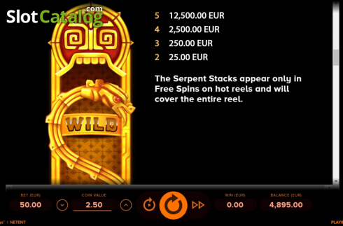 Ecran13. Rise of Maya (Slot video din NetEnt)