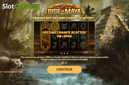 Ecran2. Rise of Maya (Slot video din NetEnt)
