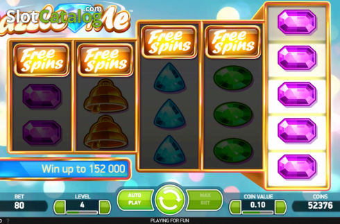 Scherm4. Dazzle Me (Video Slot van NetEnt)