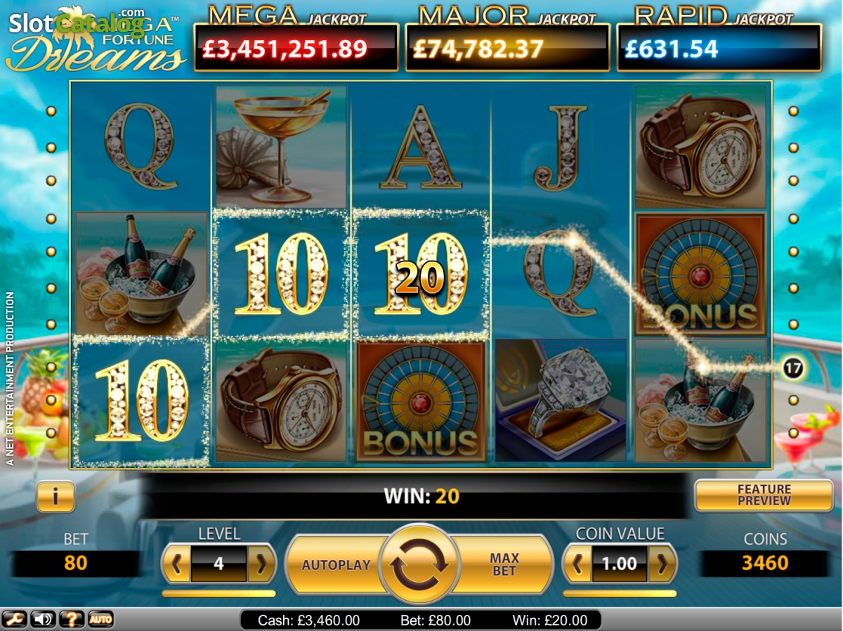 mega fortune dreams online casino