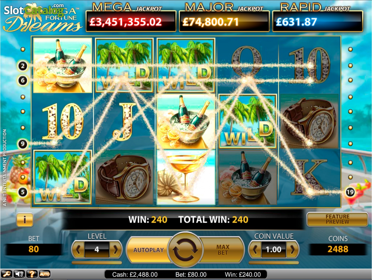 no deposit bonus dreams casino 2019