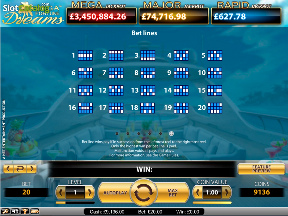 dreams casino no deposit bonus 2019