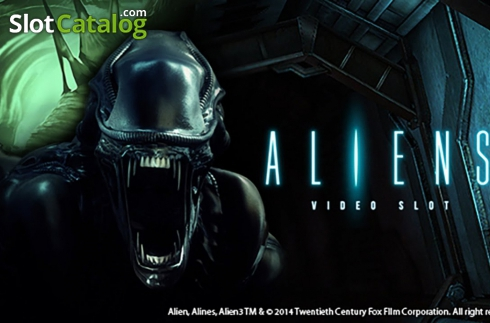 Aliens. spel. Aliens (Video Slot från NetEnt)