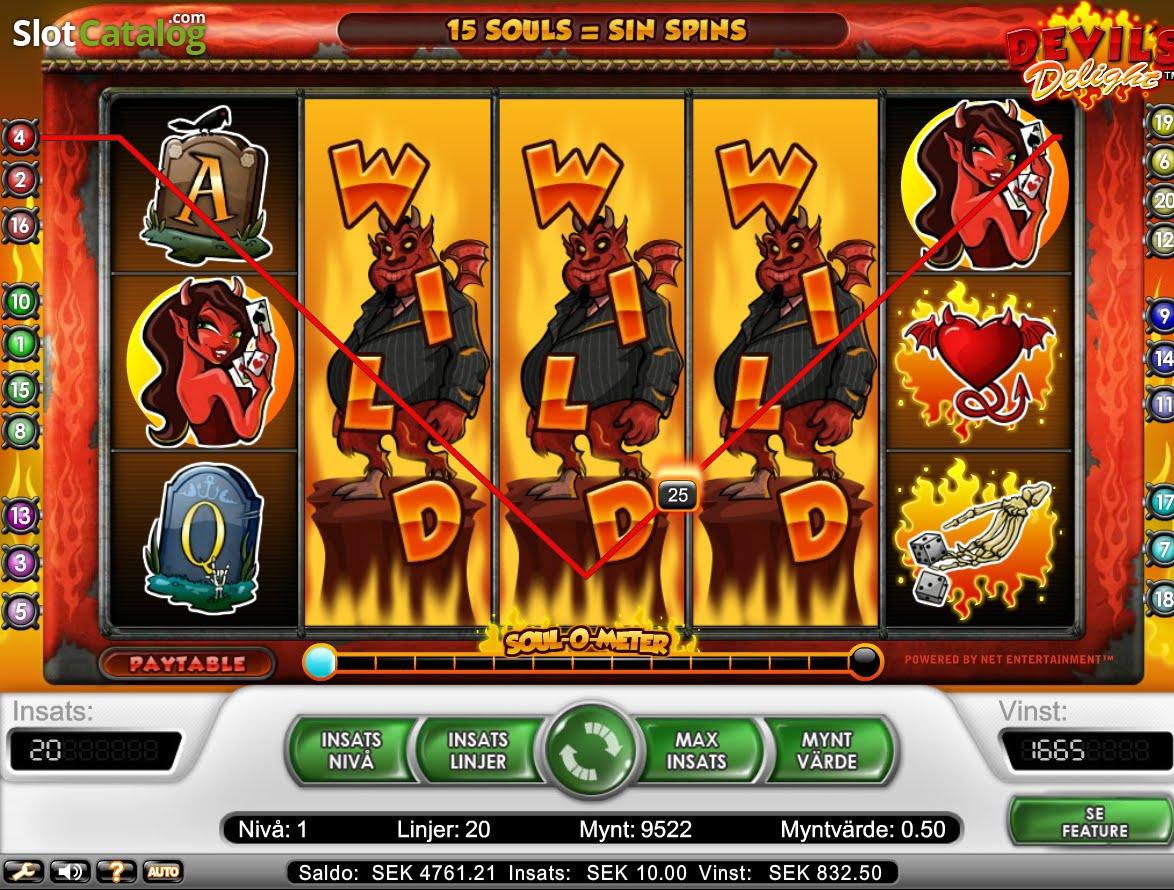 Free devils delight slot game