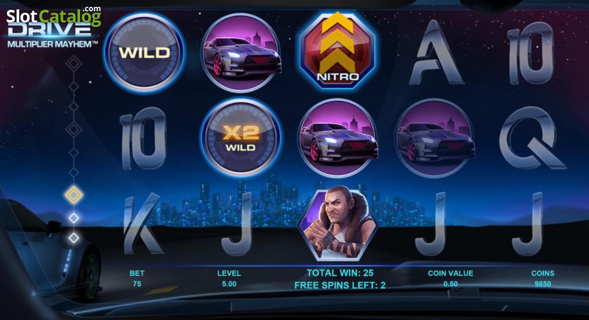 Drive Multiplier Mayhem Slot - Play this Video Slot Online