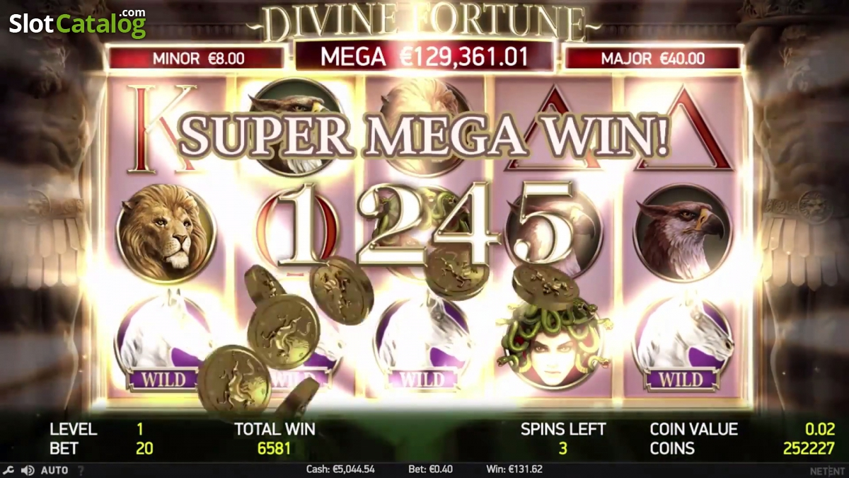 divine fortune free play
