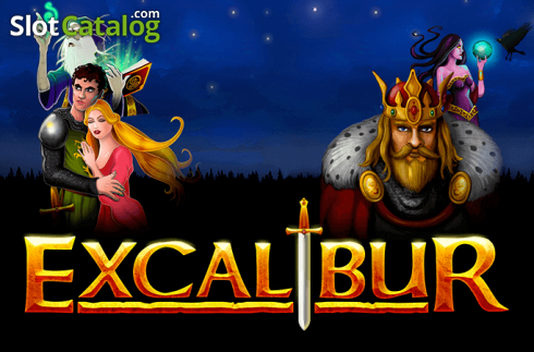 Screen1. Excalibur (Video Slot from NetEnt)
