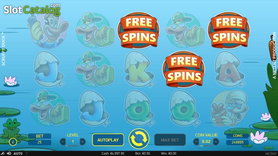 Scruffy Duck Slots - Play NetEnt Casino Games Online