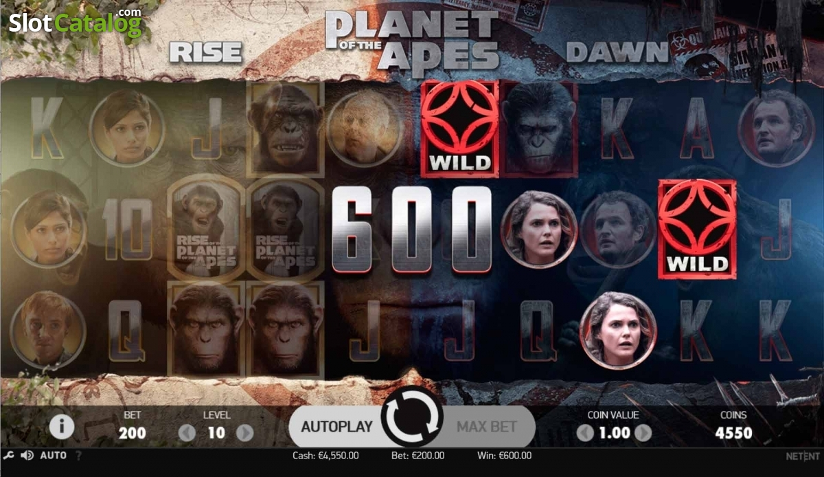 netent planet of the apes