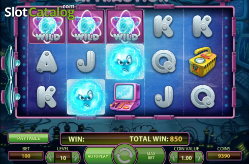 Obrazovka6. Attraction (Video Slot z NetEnt)