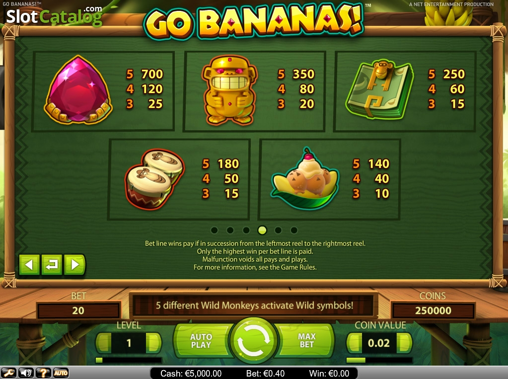 Spiele Go Bananas - Video Slots Online