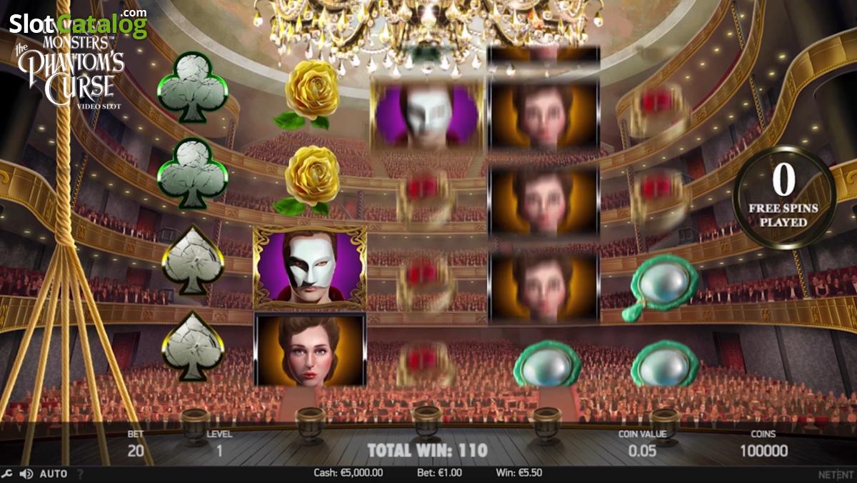 universal monsters the phantoms curse casino