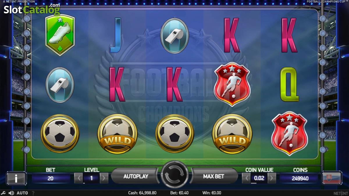 Spiele Football: Champions Cup - Video Slots Online