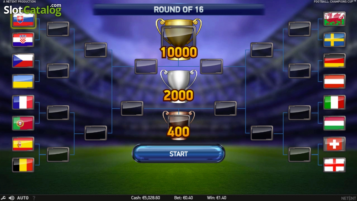 Play Football: Champions Cup Online Slots at Casino.com NZ