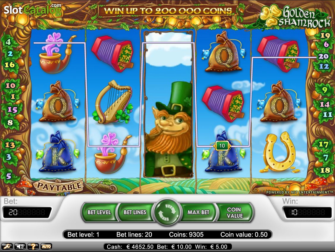 Spiele Golden Shamrock Online Slot Game - Video Slots Online