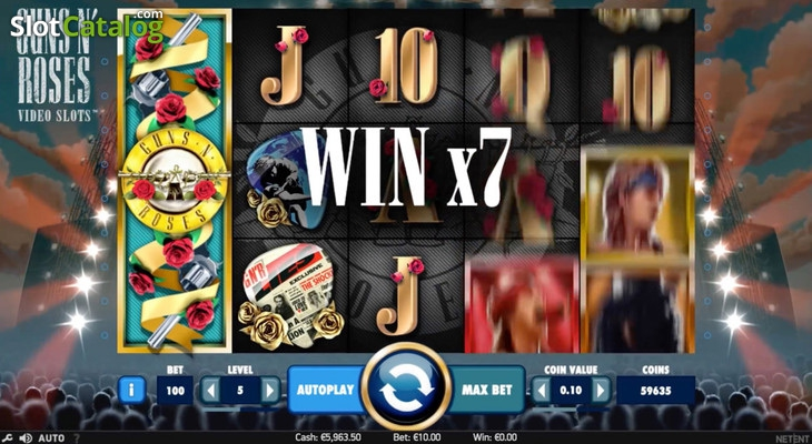 guns and roses slot netent