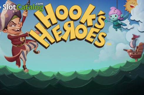 Hook's Heroes. spill. Hook's Heroes (Video Slot fra NetEnt)