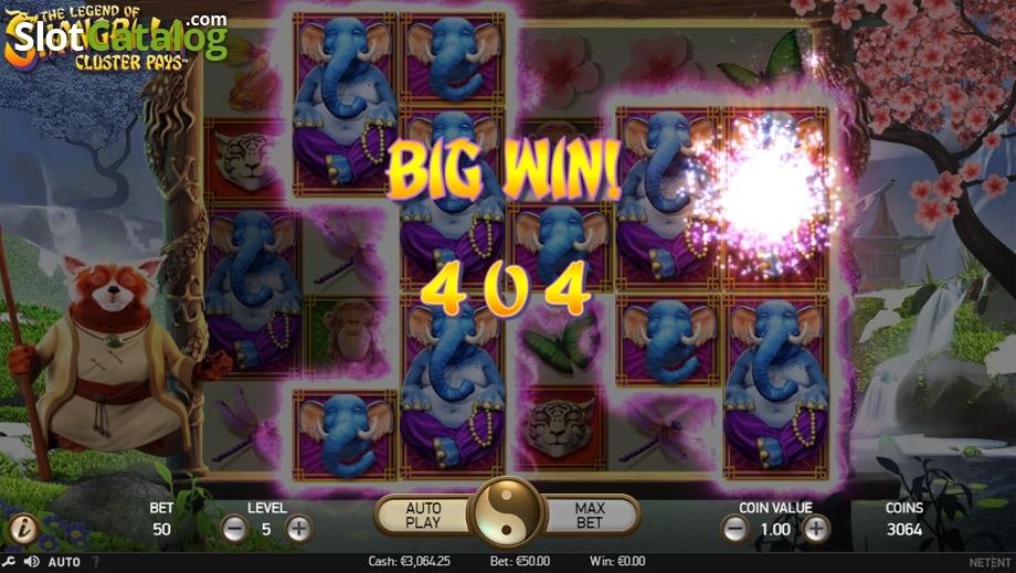 the legend of shangri la cluster pays casino