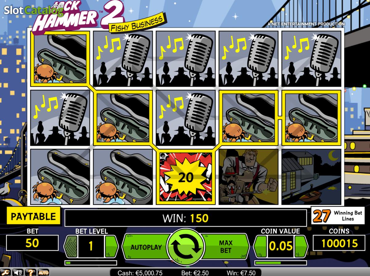 netent games slots jack hammer2