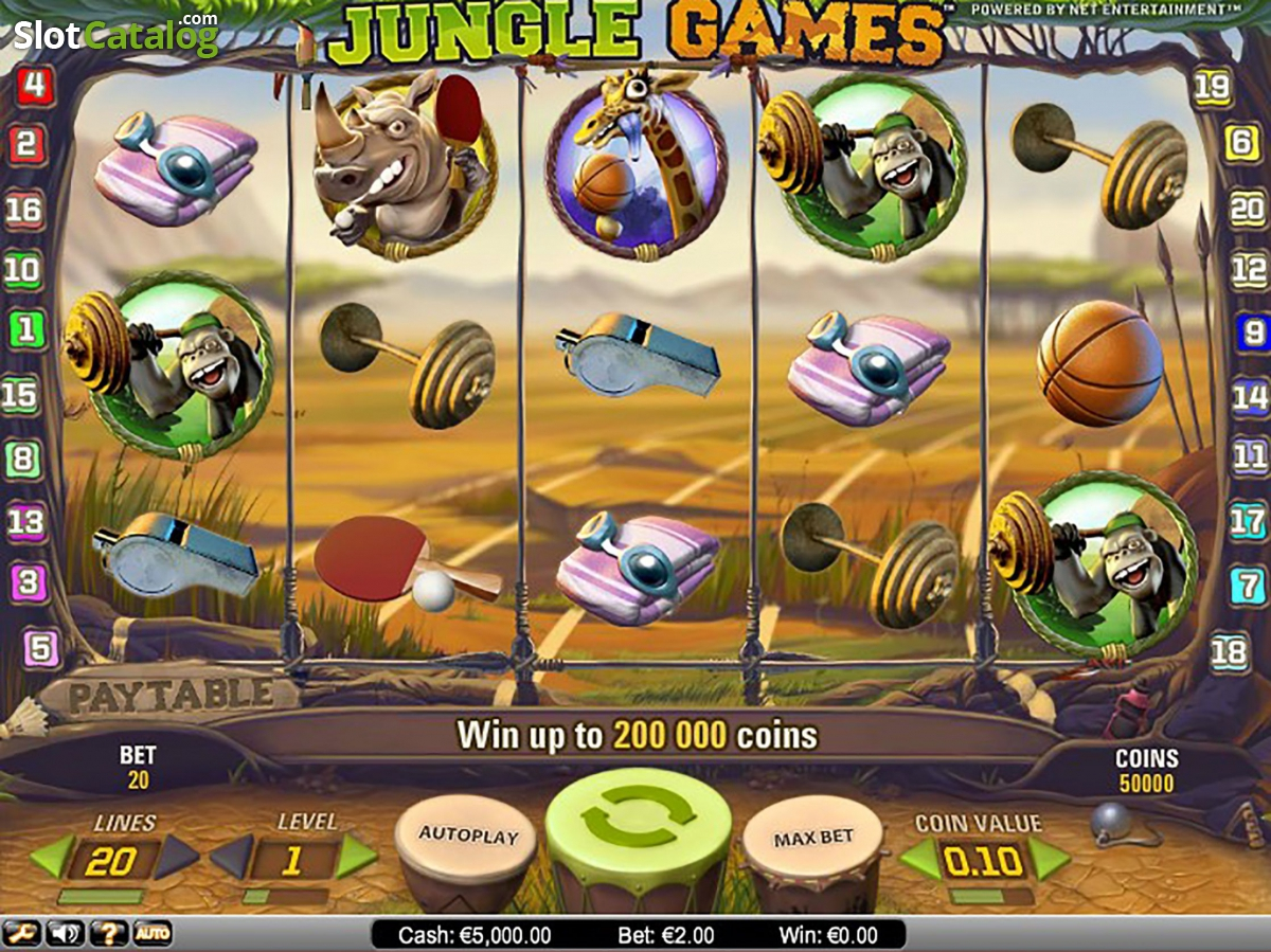 netent jungle