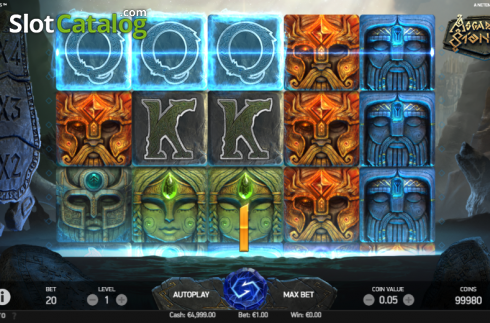 Win Screen 3. Asgardian Stones (Video Slot from NetEnt)