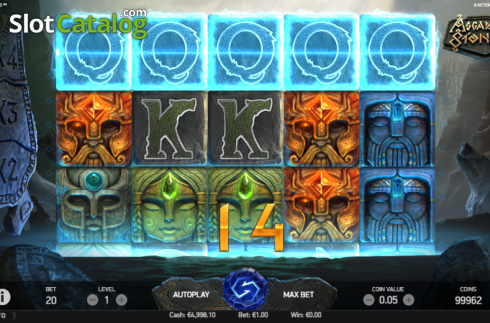 Win Screen 1. Asgardian Stones (Video Slot from NetEnt)