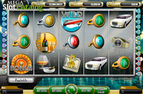 Screen2. Mega Fortune (Video Slot from NetEnt)