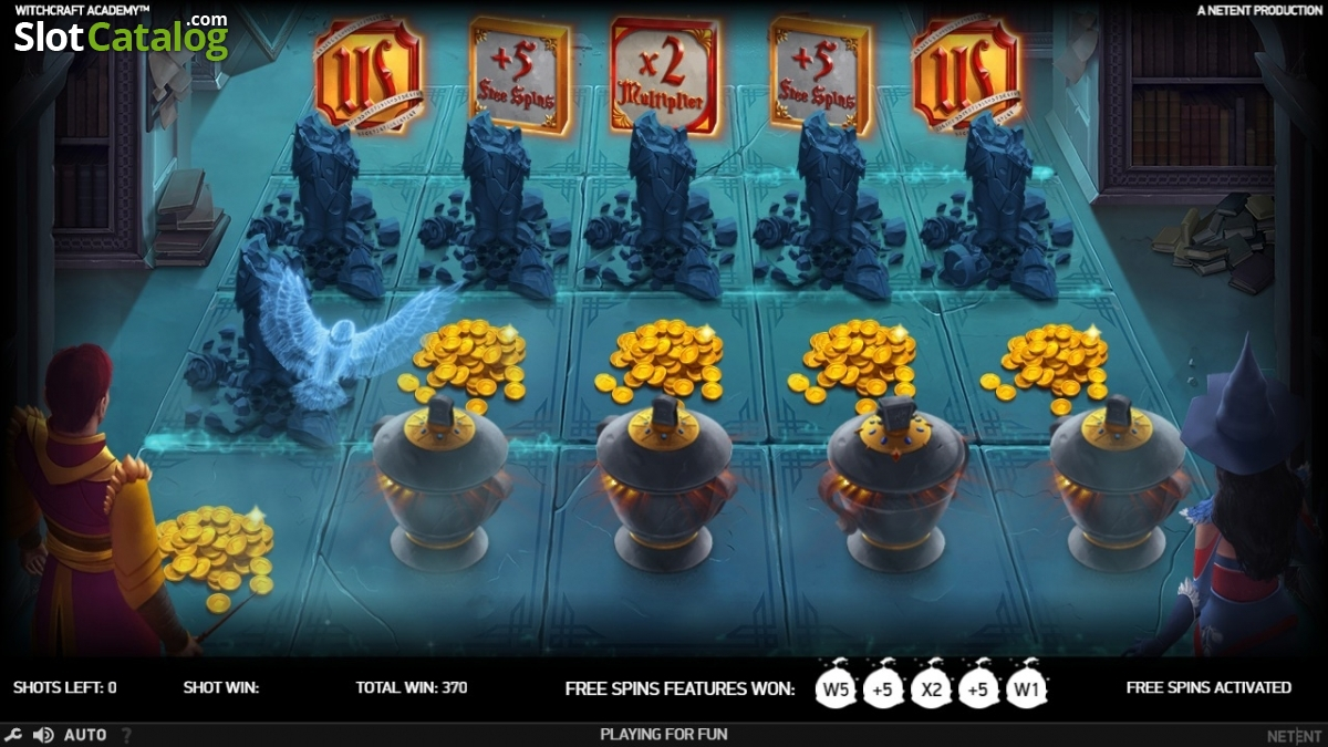 Witchcraft Academy Slot Review, Bonus Codes & where to play from United  Kingdom