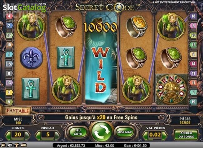 Spiele Secret Code - Video Slots Online