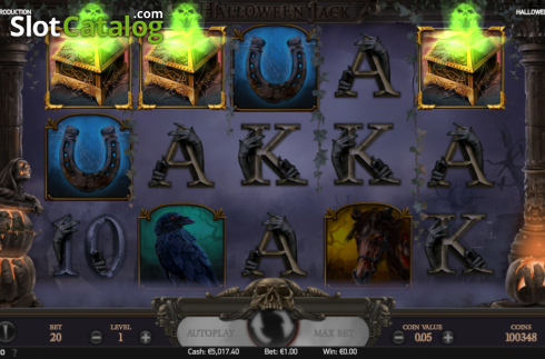 Free spins win screen 2. Halloween Jack (Video Slot from NetEnt)