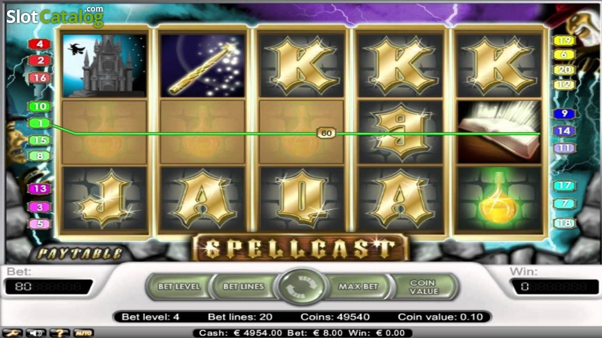 Spiele Spellcast Slots - Video Slots Online