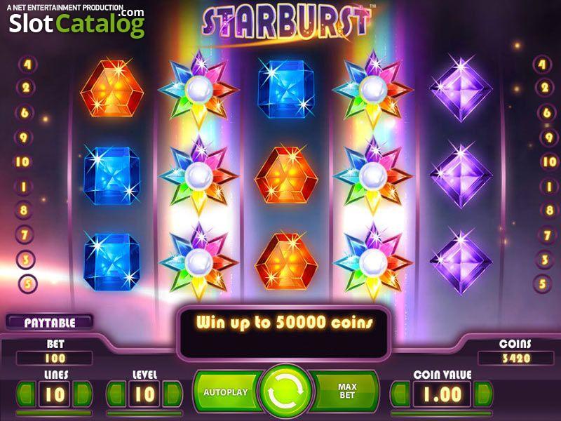 игровой автомат starburst от казино вулкан