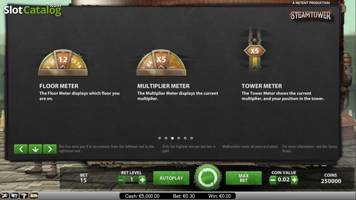 Spiele Steam Tower - Video Slots Online